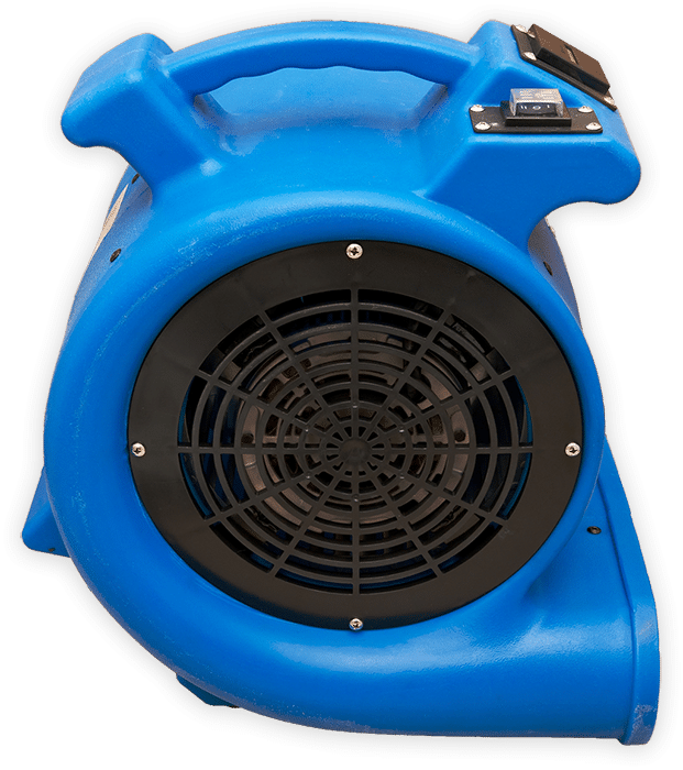Turbo fan on isolated background.