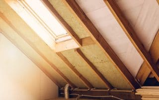Attic of a house